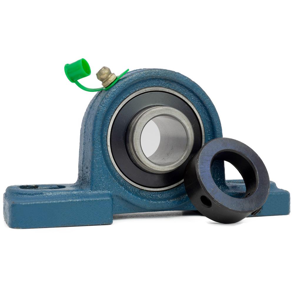 1 Stehlager mit Exzenterring HCP 204 für 20 mm Welle
